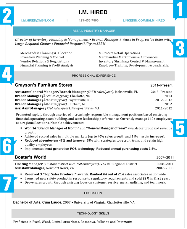 Resume Guidelines 2016