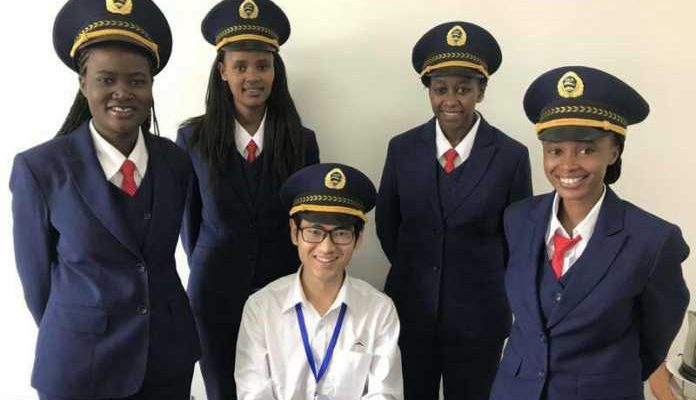 Image result for sgr girls captains kenya