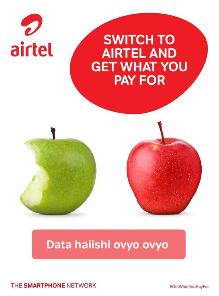 Image result for apples in airtel adverts