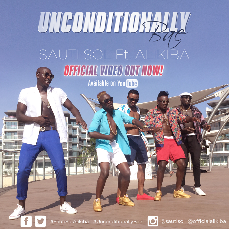 Sauti Sol - Unconditionally Bae Lyrics ft Alikiba