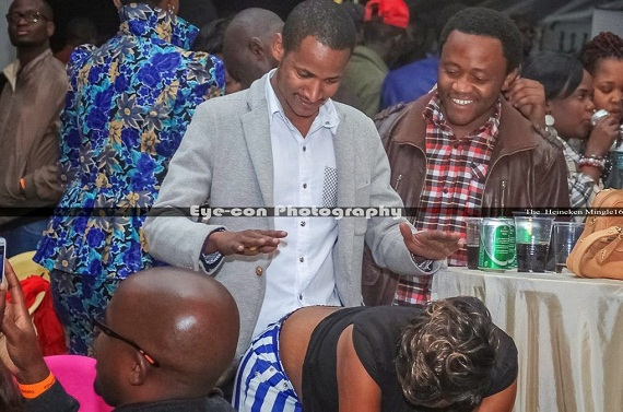 Image result for babu owino and ladies girls