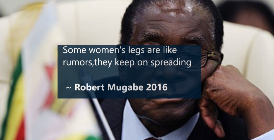 10 Of The Latest Quotes By President Robert Mugabe On Relationships