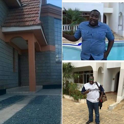 Willis Raburu Shows Off His Big Mansion Which Is Nearing Completion - Youth Village Kenya