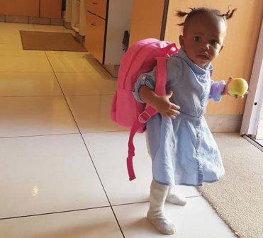 Diamond And Zari 39 S Baby Tiffah Is Already Attending School Youth Village Kenya