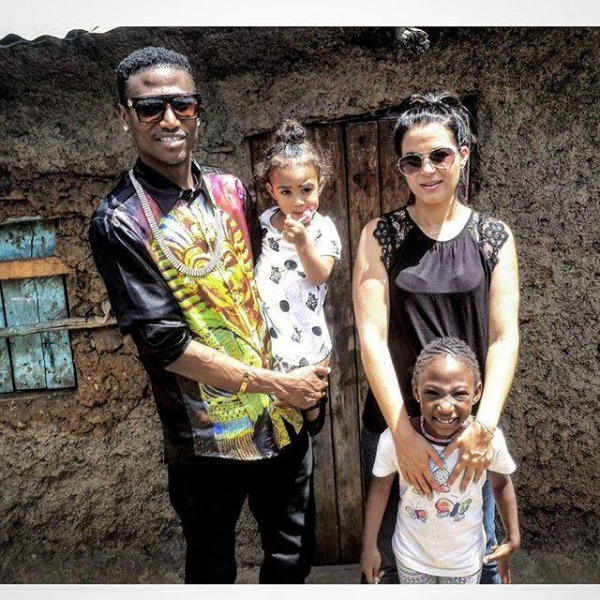 octopizzo and his wife