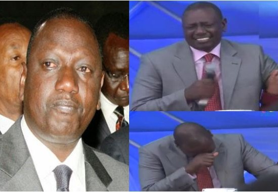Image result for Ruto crying