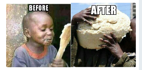Image result for ugali meme